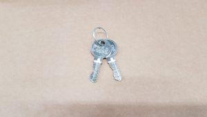 Spare cabinet keys