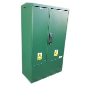 3 Phase Meter Box Green 660x1064x320 mm