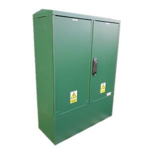 3 Phase Meter Box Green 800x1064x320 mm