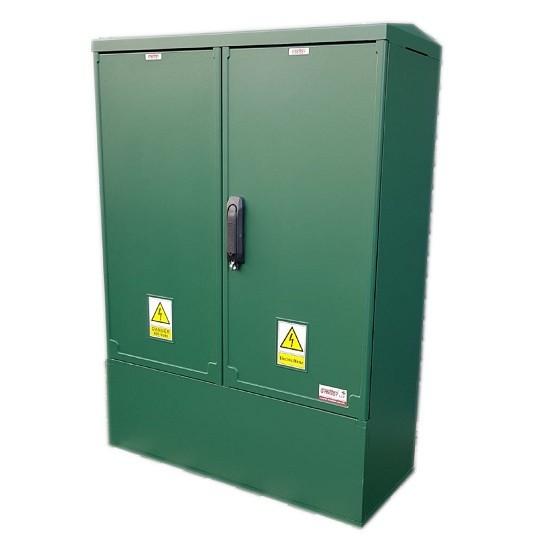 3 Phase Meter Box Green 800x1064x320 mm