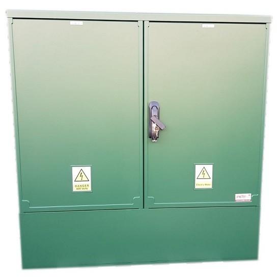3 Phase Meter Box Green 1060 x 1064 x 320 mm