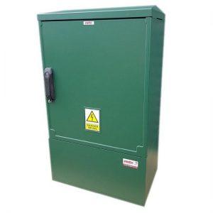 3 Phase Meter Box Green 530x910x320 mm